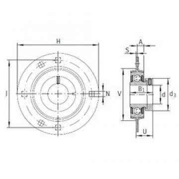 INA RA50 bearing units