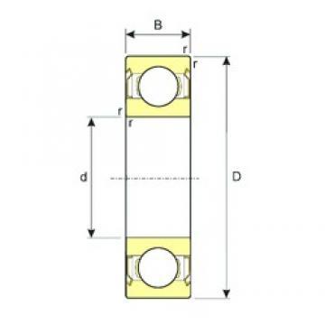 ISB MR115ZZ deep groove ball bearings