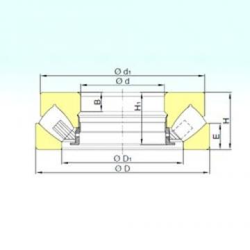 ISB 293/530 M thrust roller bearings
