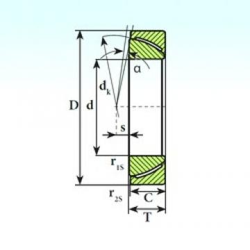 ISB GAC 110 SP plain bearings