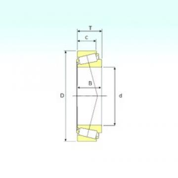ISB 25590/25520 tapered roller bearings