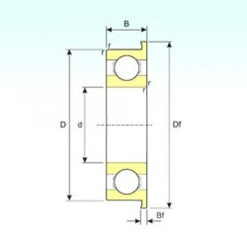 ISB F6703 deep groove ball bearings