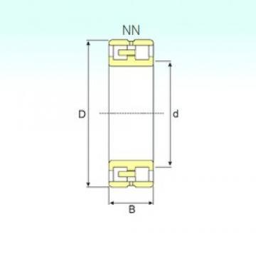 ISB NN 3052 K/SPW33 cylindrical roller bearings