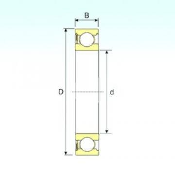 ISB 6217-RS deep groove ball bearings