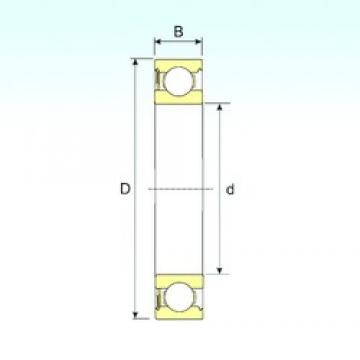 ISB 6313-RS deep groove ball bearings