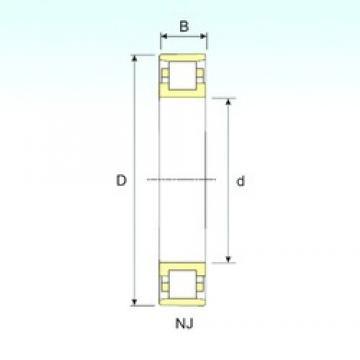 ISB N 224 cylindrical roller bearings