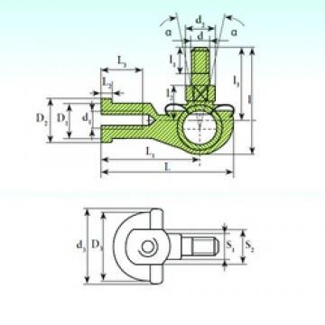 ISB SQL 22 C RS plain bearings