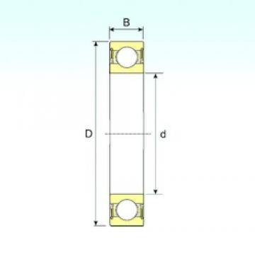 ISB 6022-2RS deep groove ball bearings