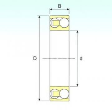 ISB 1322 M self aligning ball bearings