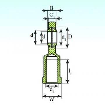 ISB SI 25 ES 2RS plain bearings