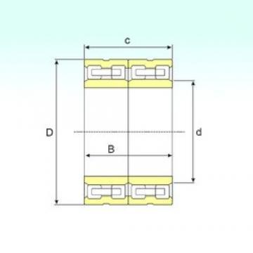 ISB FCD 126170436 cylindrical roller bearings