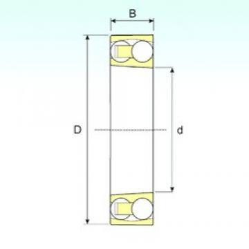 ISB 1306 KTN9 self aligning ball bearings