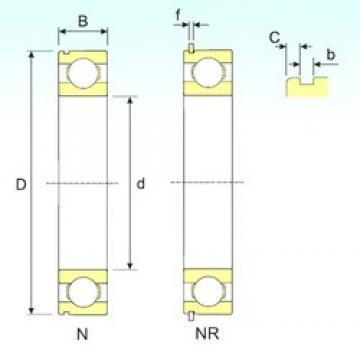 ISB 6310 NR deep groove ball bearings