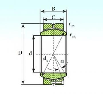 ISB GE 530 CP plain bearings