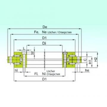 ISB YRT 260 thrust roller bearings