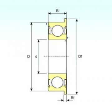 ISB FR1-5ZZ deep groove ball bearings