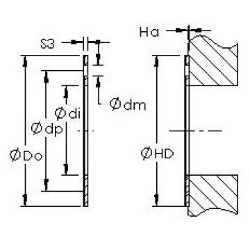 AST AST20  WC09IB plain bearings