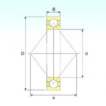 ISB QJ 211 N2 M angular contact ball bearings