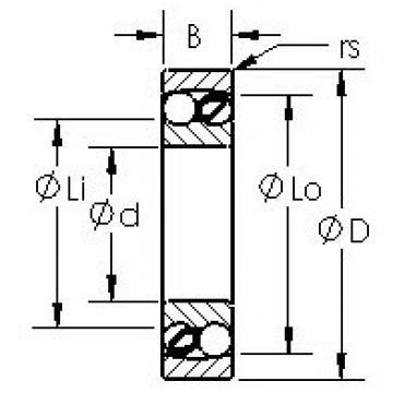 AST 1203 self aligning ball bearings