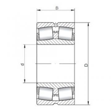 ISO 23236W33 spherical roller bearings