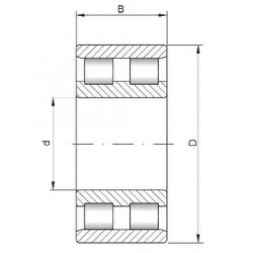 ISO NN4932 cylindrical roller bearings