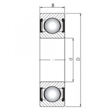 ISO 6409 ZZ deep groove ball bearings