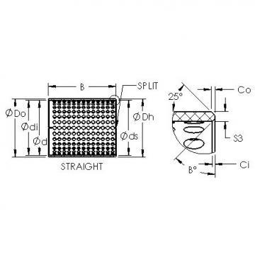 AST ASTT90 20560 plain bearings