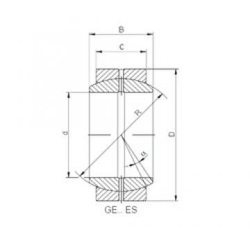 ISO GE 006 ES plain bearings