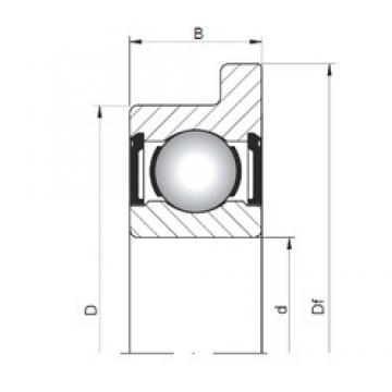 ISO FL624 ZZ deep groove ball bearings