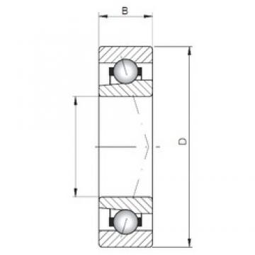 ISO 71900 A angular contact ball bearings