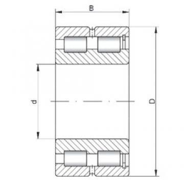 ISO SL185011 cylindrical roller bearings