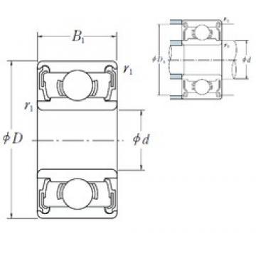 ISO 699-2RS deep groove ball bearings