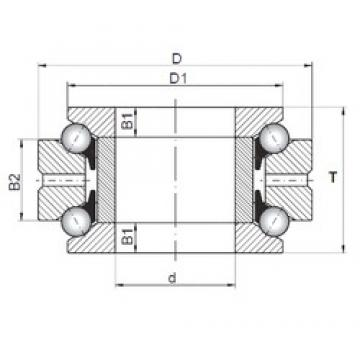 ISO 234715 thrust ball bearings