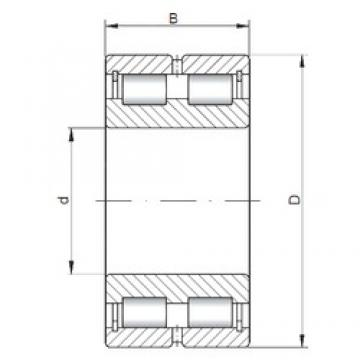 ISO NNCL4936 V cylindrical roller bearings