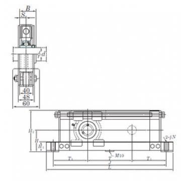KOYO UCTL209-200 bearing units