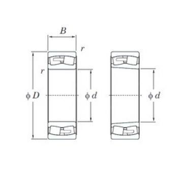 KOYO 22340RHA spherical roller bearings