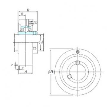 KOYO UCC308 bearing units