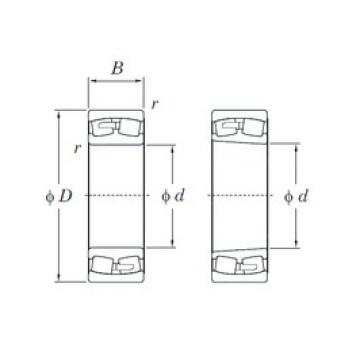 KOYO 23196R spherical roller bearings