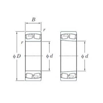 KOYO 239/750R spherical roller bearings