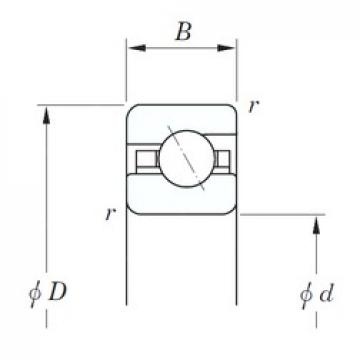 KOYO KAA020 angular contact ball bearings