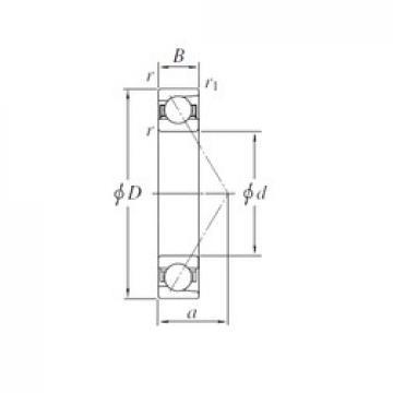 KOYO AC382633B angular contact ball bearings