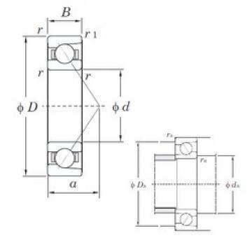 KOYO 7200B angular contact ball bearings