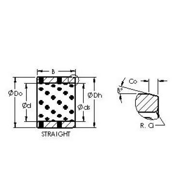 AST AST650 8096100 plain bearings
