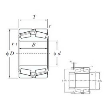 KOYO 45268 tapered roller bearings