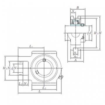 KOYO UCT212-39 bearing units