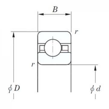 KOYO KFC140 deep groove ball bearings