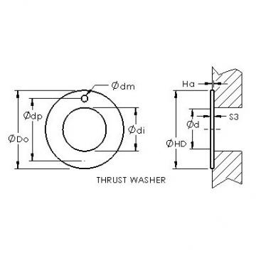 AST ASTEPBW 2238-015 plain bearings