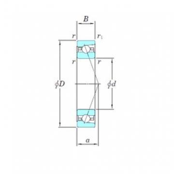 KOYO 3NCHAR924C angular contact ball bearings