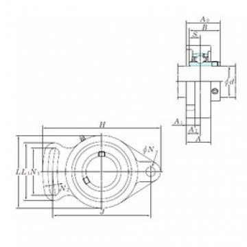 KOYO UCFA209-28 bearing units