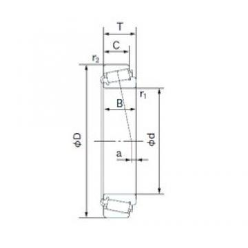 NACHI 34274/34478 tapered roller bearings